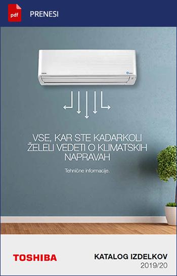 Generalni katalog za klimatizacijo in ogrevanje prostorov