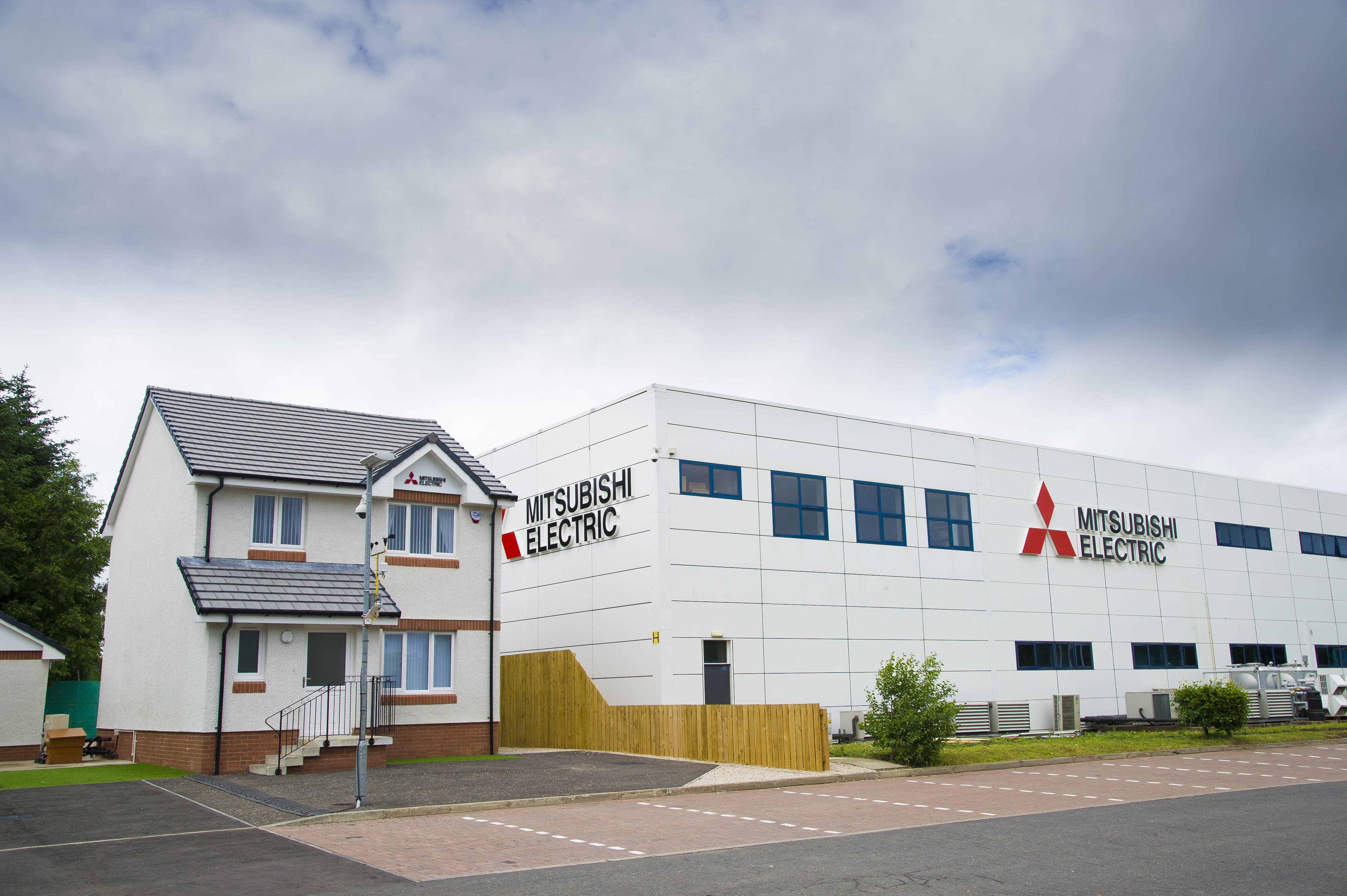 Hiša za testiranje toplotnih črpalk v Livingstonu