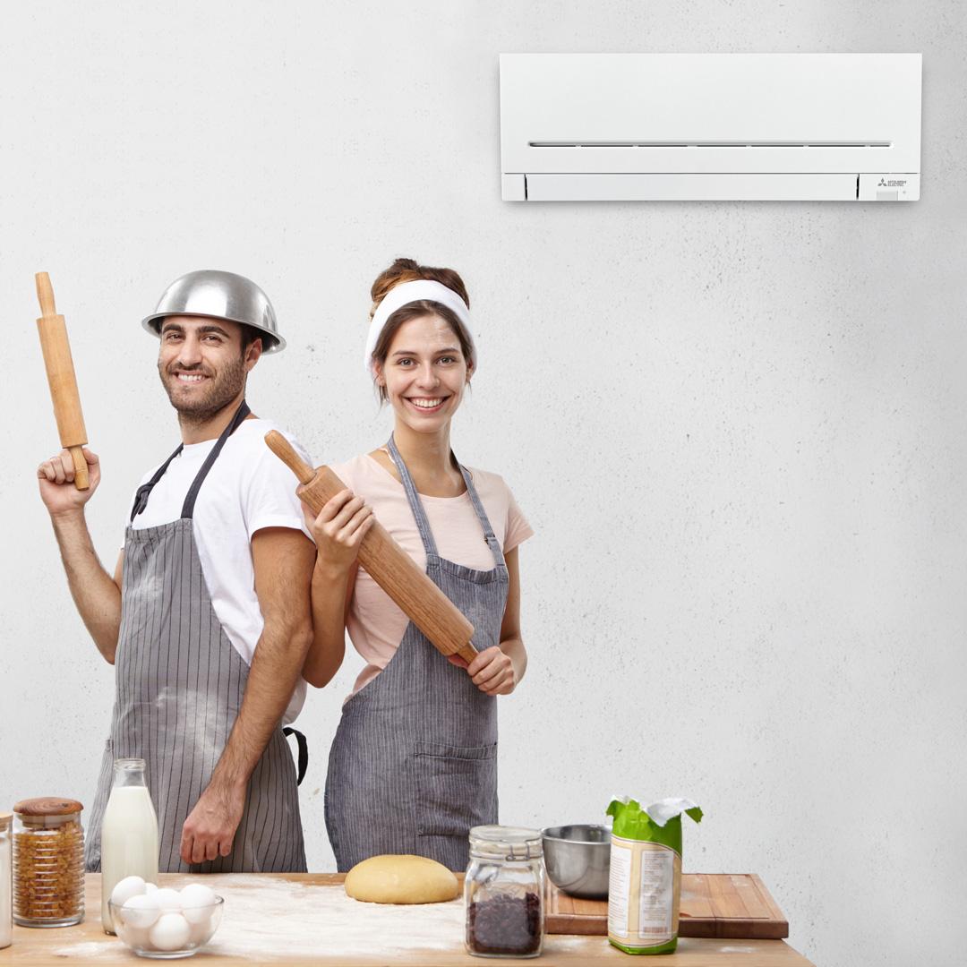 Idealna temperatura v kuhinji