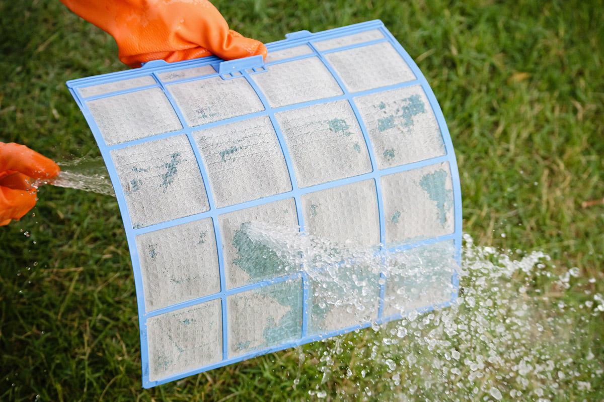 Z rednim čiščenjem filtrov bo vaša klima učinkovitejša in varčnejša