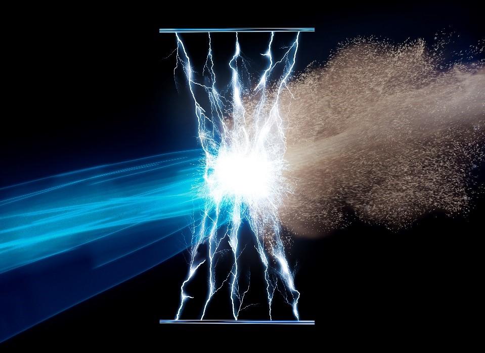 Hidroksilni radikali OH se oprimejo onesnaževal in zlomijo njihove zaščitne membrane.