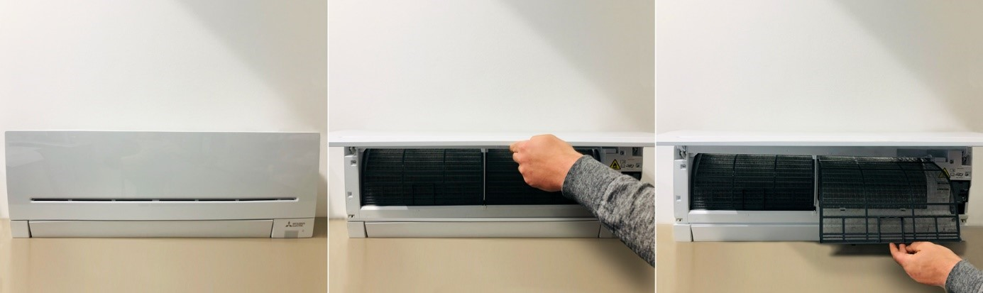 Potek čiščenja filtrov klimatske naprave