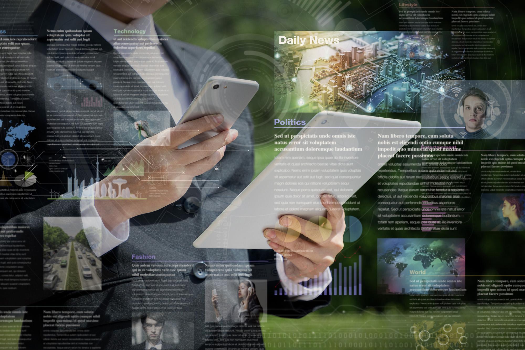 Komuniciranje prek spleta je zadnji trend v komunikaciji, ki ni omejen le na množične medije.