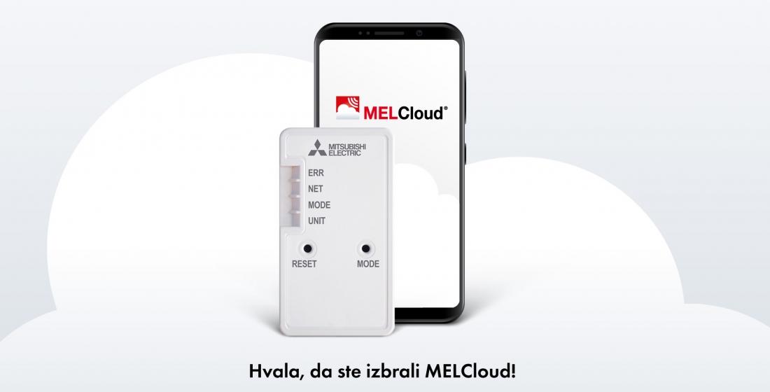 MelCloud navodila za povezovanje Vitanest