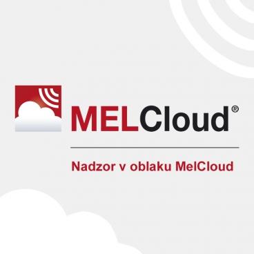 Nadzor v oblaku MelCloud Mitsubishi Electric