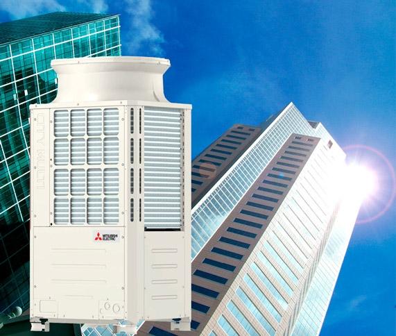 VRF sistemi Mitsubishi electric
